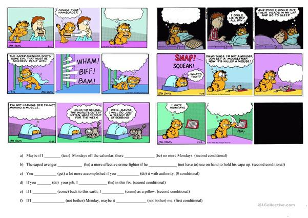 Garfield - Conditionals