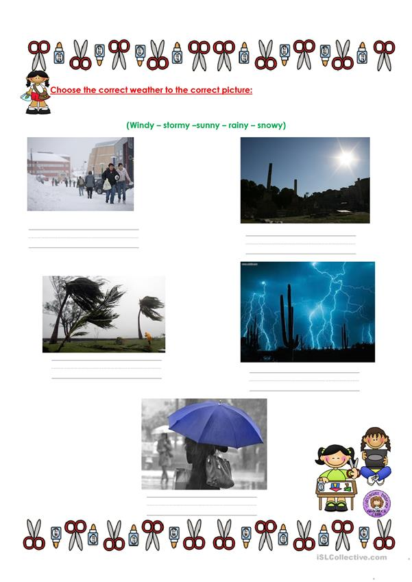 Quiz about weather