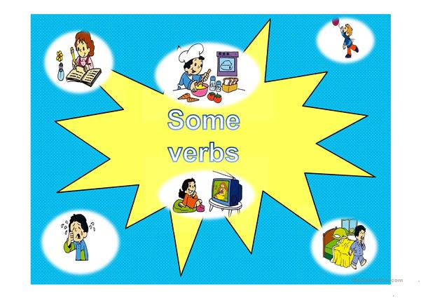 Some verbs and adjectives