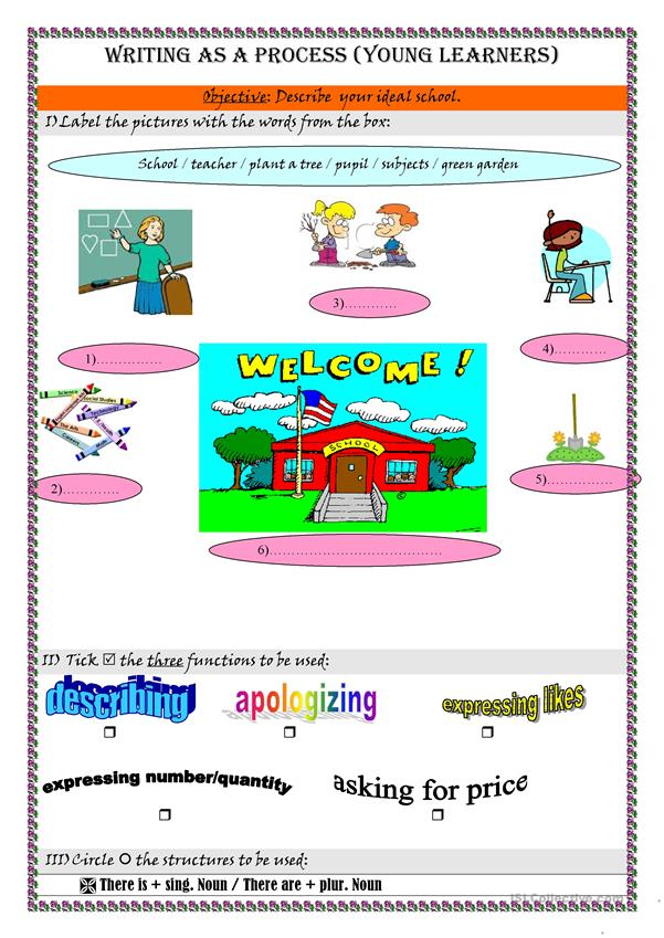 Writing as a process for young learners