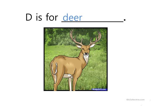 ABC Vocabulary PowerPoint