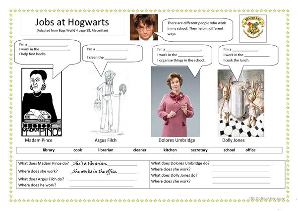 Jobs at Hogwarts
