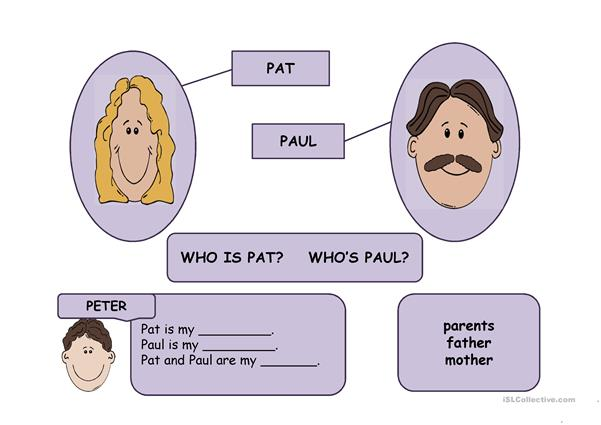 PETER'S FAMILY PPT