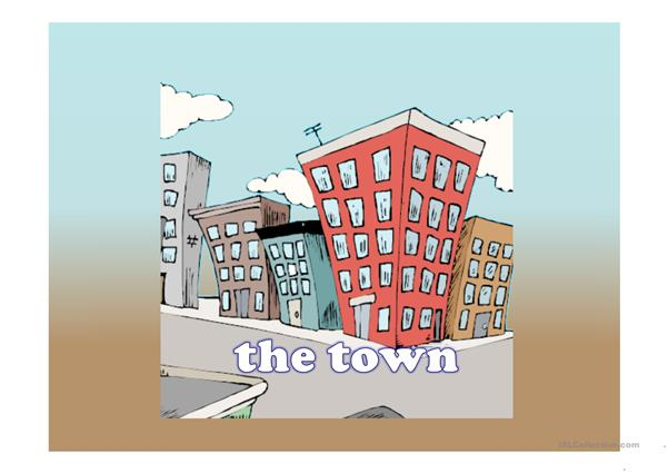 THE TOWN - WHERE WERE THEY (PAST SIMPLE)