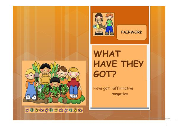 What Have They Got? ppt