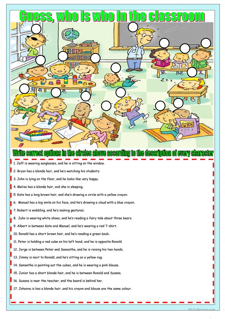 who is who in the class worksheet free esl printable worksheets made by teachers. Black Bedroom Furniture Sets. Home Design Ideas