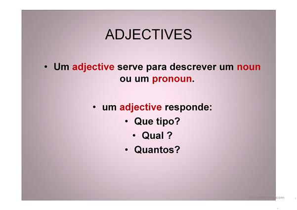 adjectives with pictures