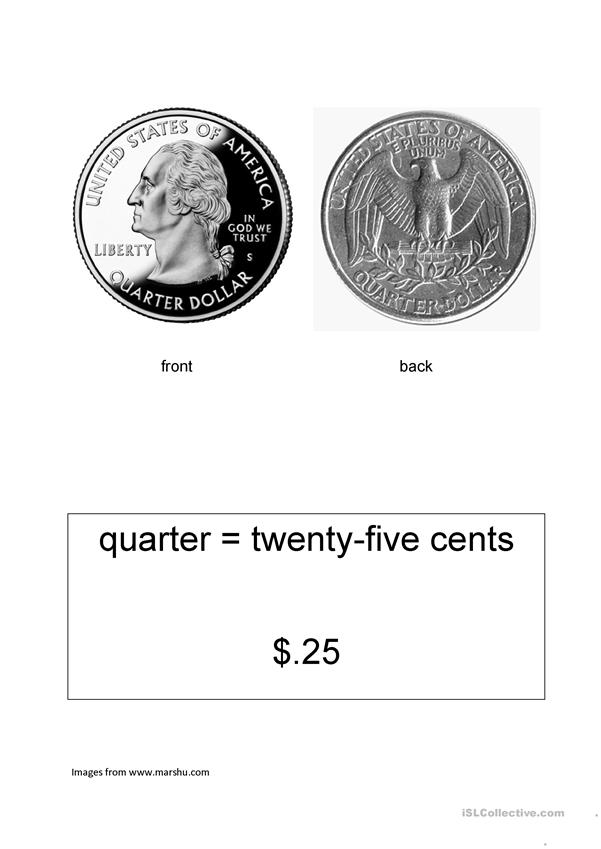 American currency flashcards
