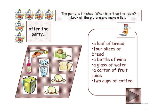 Fruit Vegetables Food Drinks part 2 ppt