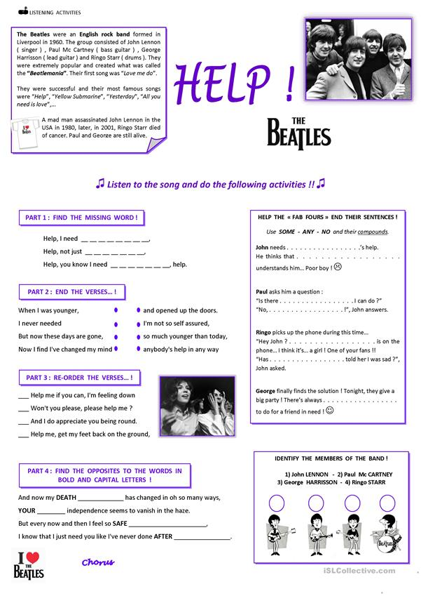 HELP ! The Beatles