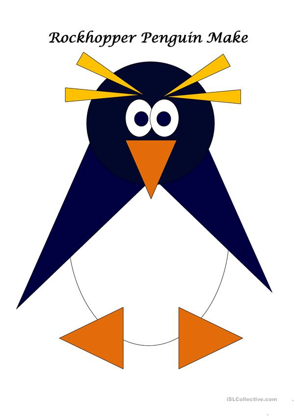 Rockhopper Penguin Make