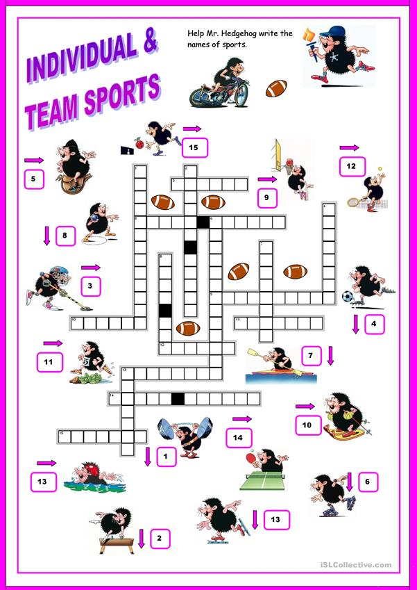 SPORTS - crossword