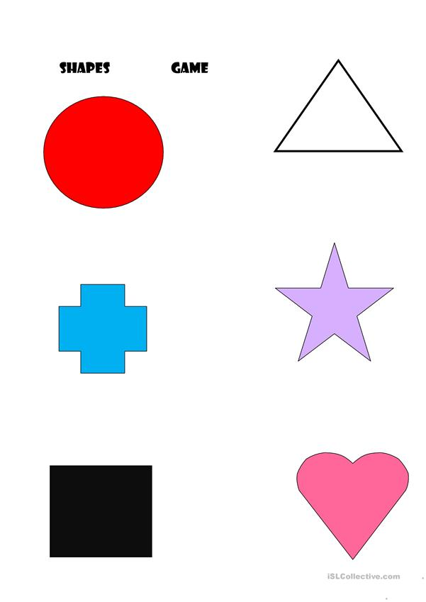 the colours and shapes game