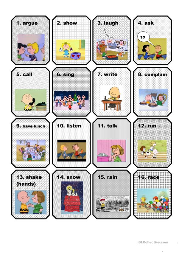 VERBS FLASHCARDS 2