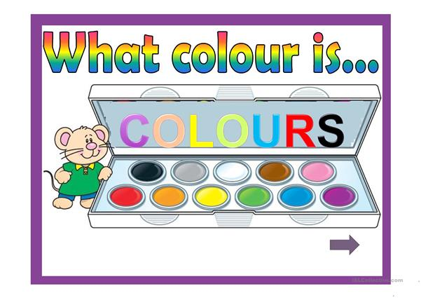 What colour...