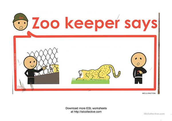 Zookeeper says ... (Conditional 1. Warnings)
