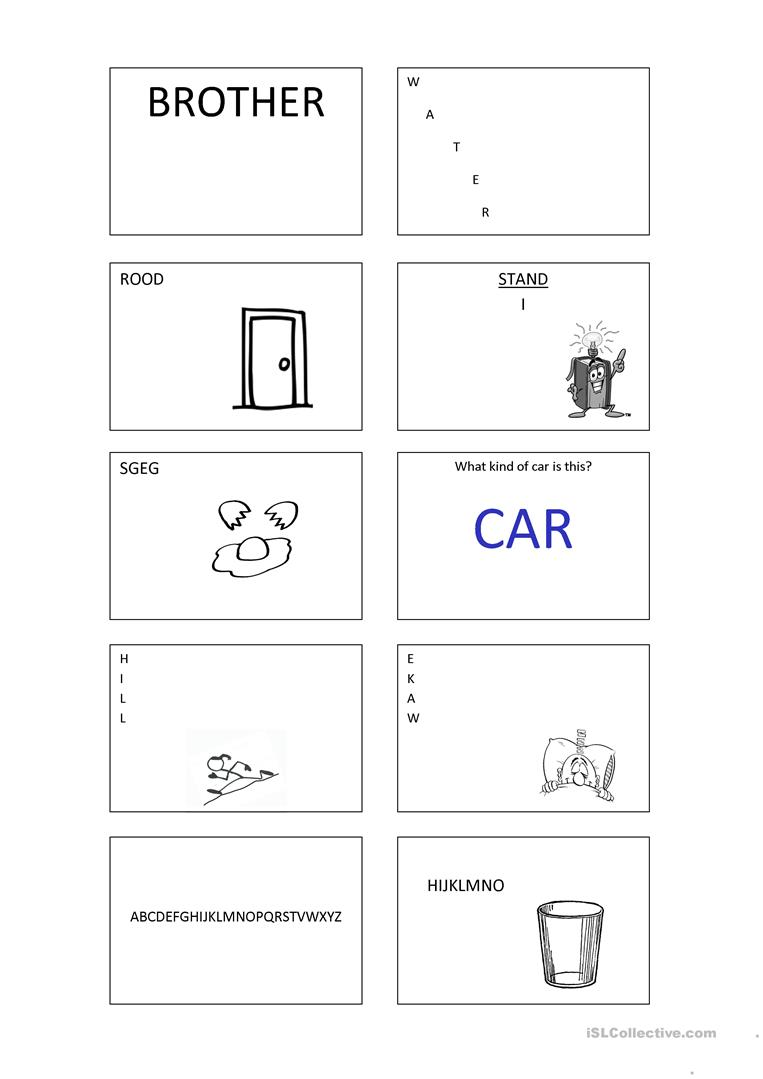 Rebus Pictogram Puzzles, Word Play with pictures | Speech-Language ...