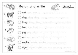 Preschool Trace Worksheets Worksheets for all | Download and Share ...