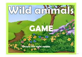 English ESL animal game Powerpoint presentations - Most downloaded