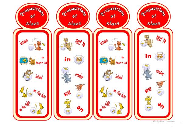 Prepositions bookmarks