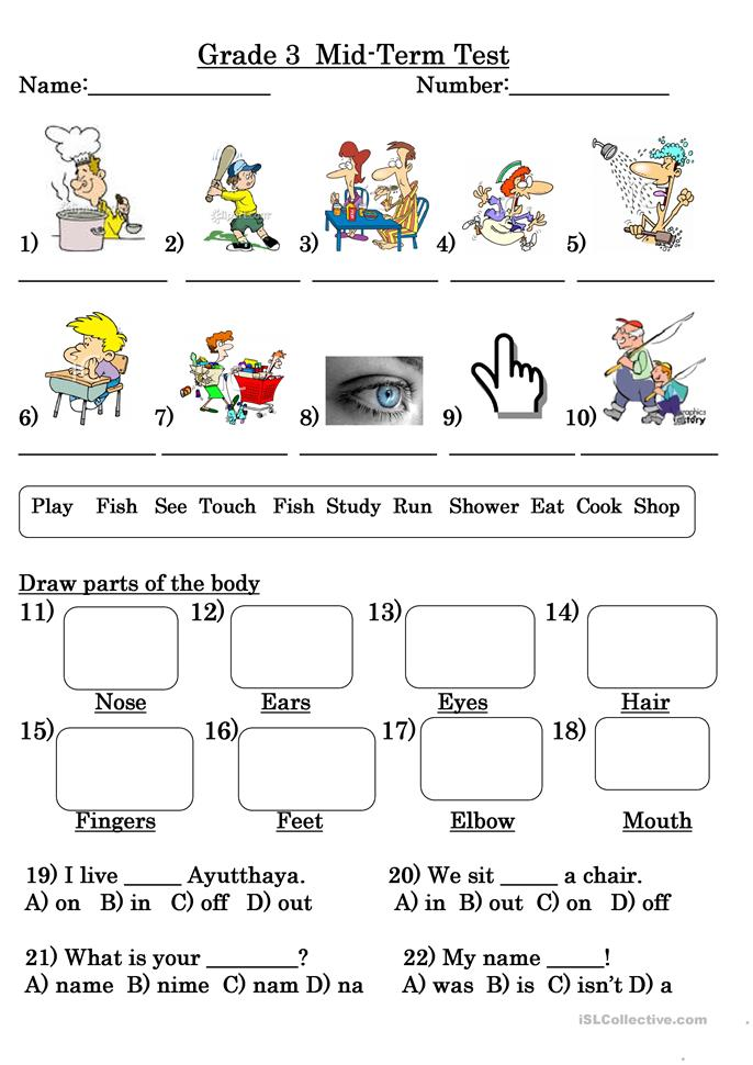30 free esl grade 3 worksheets. Black Bedroom Furniture Sets. Home Design Ideas