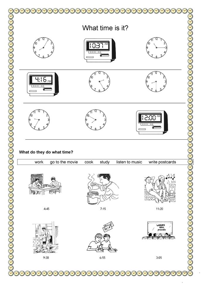 time and daily routine what time is it worksheet free esl printable worksheets made by teachers. Black Bedroom Furniture Sets. Home Design Ideas