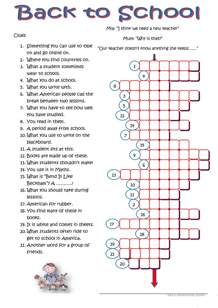 This is a graphic of Sly Crossword Puzzles for High School Students Printable