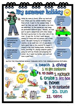 Soil Worksheets For Kids Excel  Free Esl Summer Worksheets Algebra Worksheets Year 8 with Addition And Subtraction Worksheets Kindergarten My Summer Holiday Adding Two Digit Numbers With Regrouping Worksheets Word