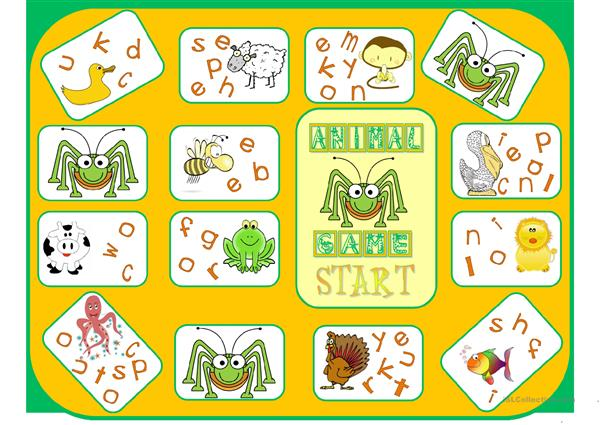 Animal boardgame 1