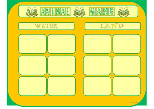 Animal boardgame 2