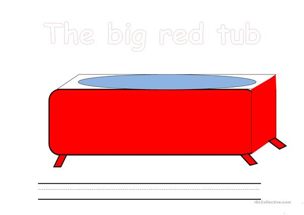 Big Red Tub Worksheet