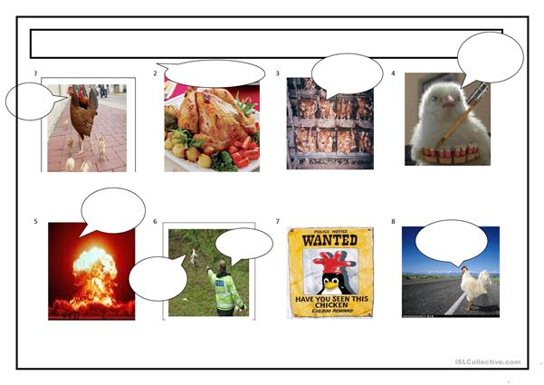 Easter Chicken storyboard