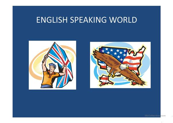 English-speaking world