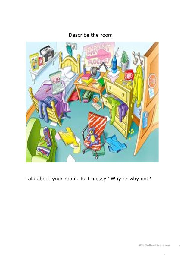 Is your room messy?