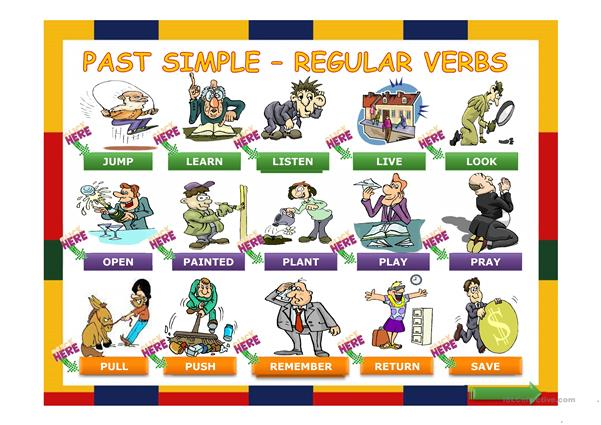 Simple Past Regular Verbs Made Easy