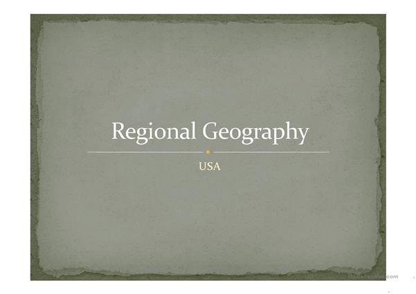 USA - Geography.pptx
