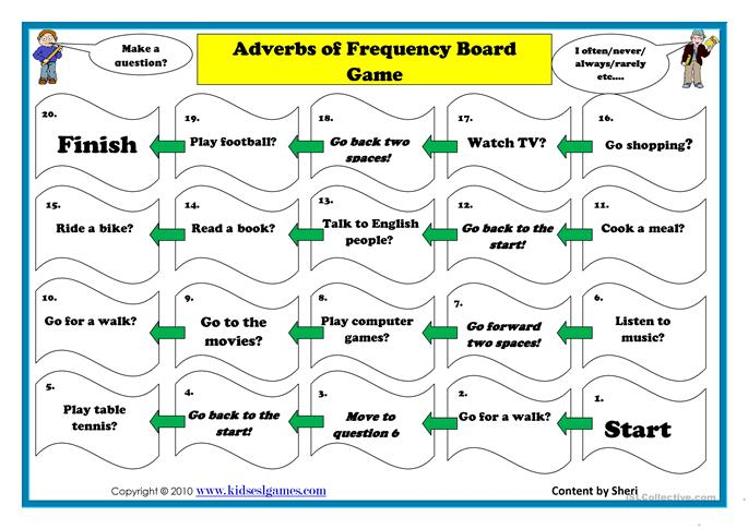Adverb of frequency bo... - ESL worksheets