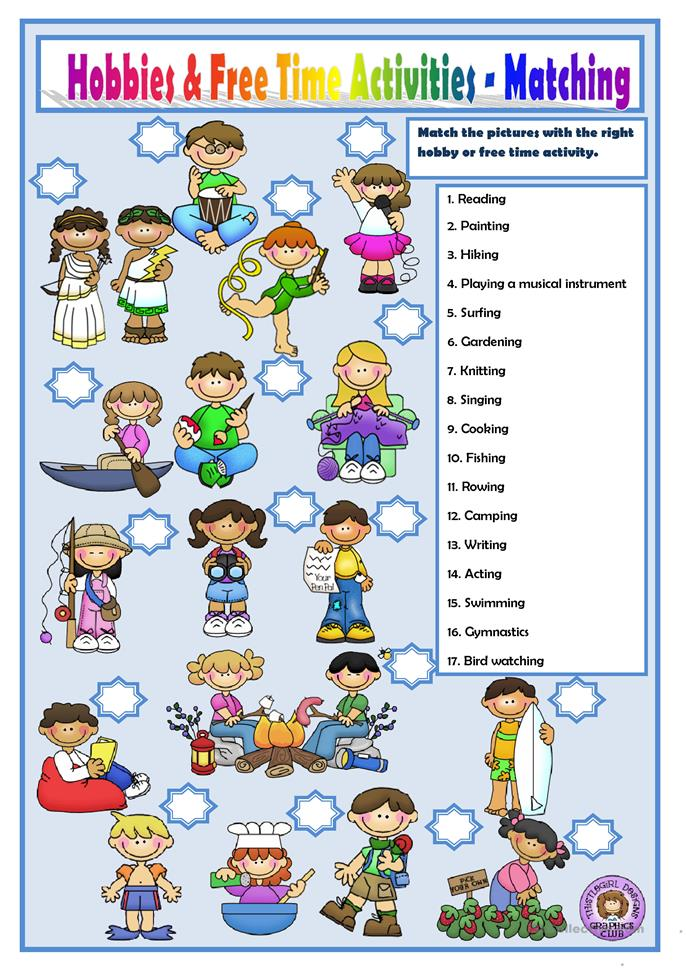 Worksheets Free Student Worksheets free student worksheets delibertad hobbies and time activities worksheet esl printable