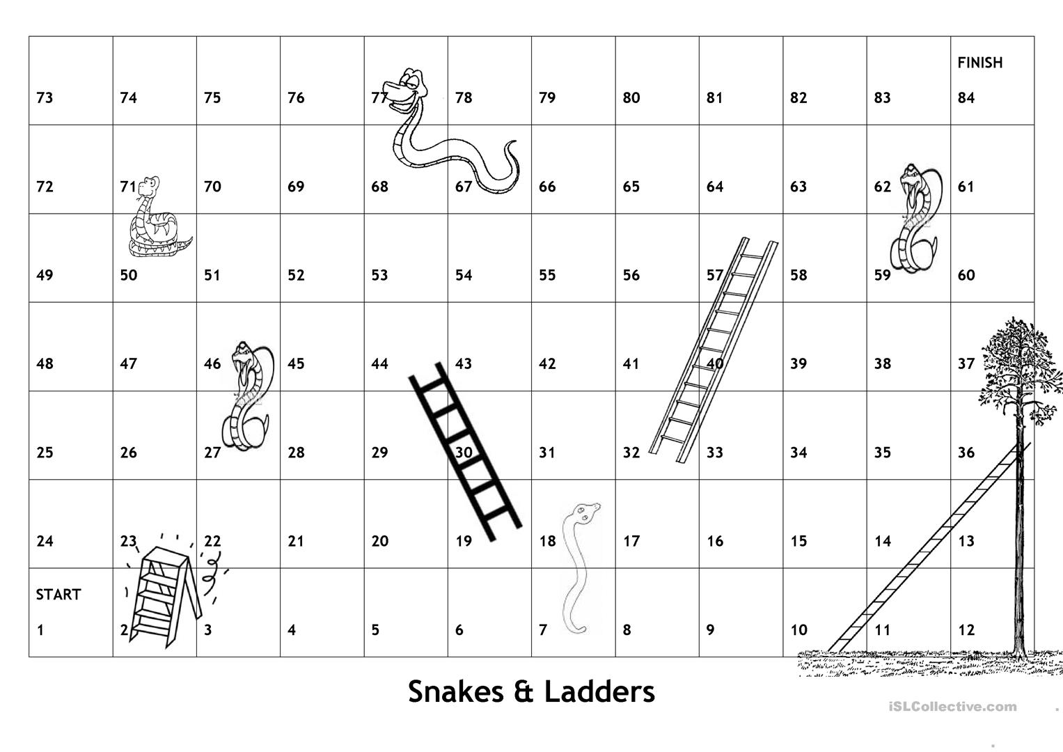 29 free esl snakes and ladders worksheets board game snakes ladders with english game questions and ins solutioingenieria Gallery