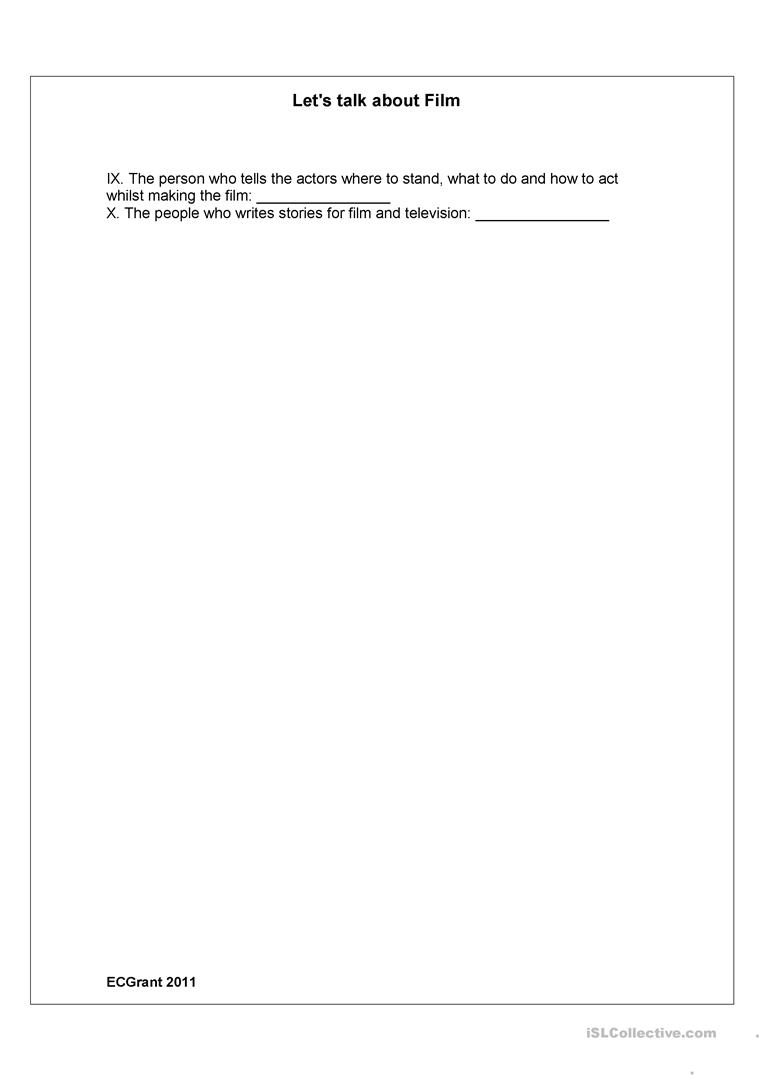 Worksheets Genres Worksheet film genres worksheet free esl printable worksheets made by teachers full screen