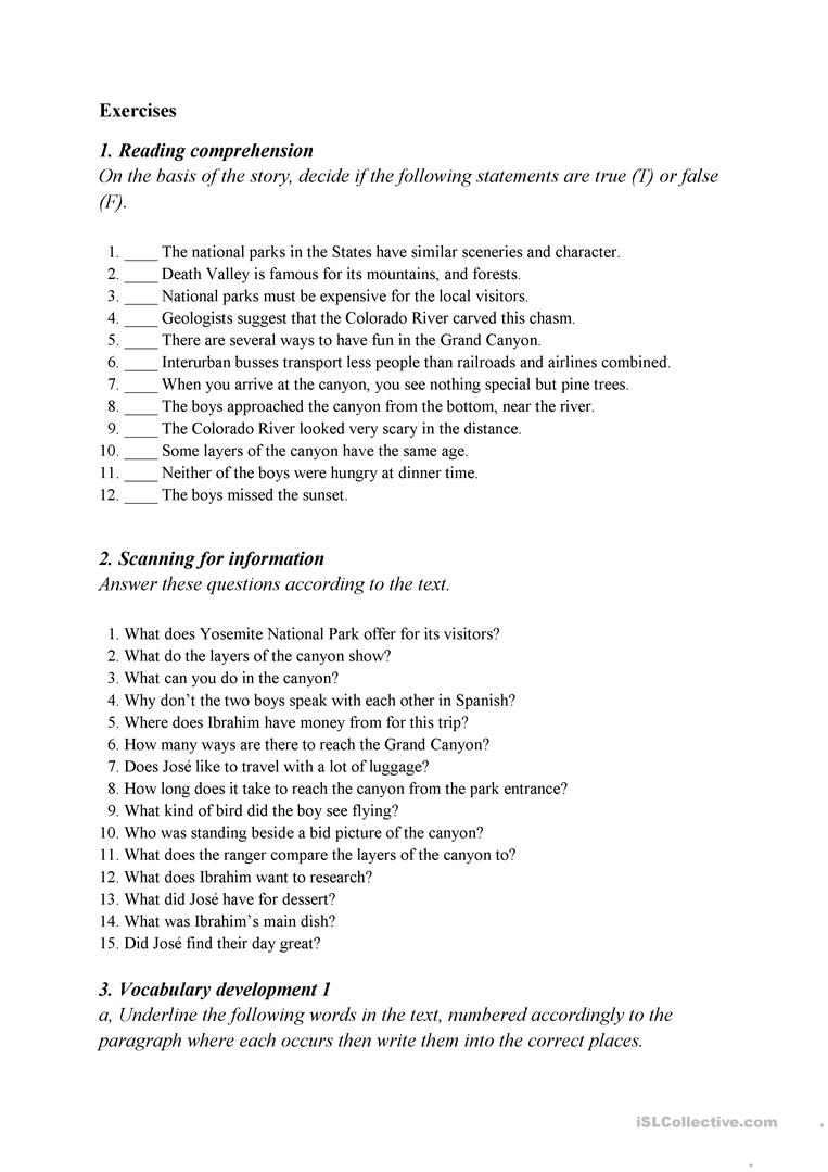 how the earth was made grand canyon worksheet the best and most comprehensive worksheets. Black Bedroom Furniture Sets. Home Design Ideas