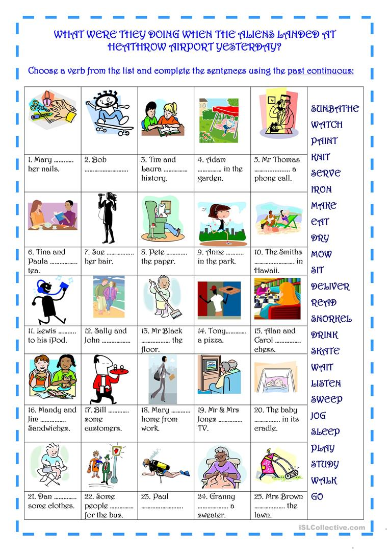 worksheet Alien Encounters Worksheet 16 free esl aliens worksheets what were they doing when the landed at heathrow airport yes