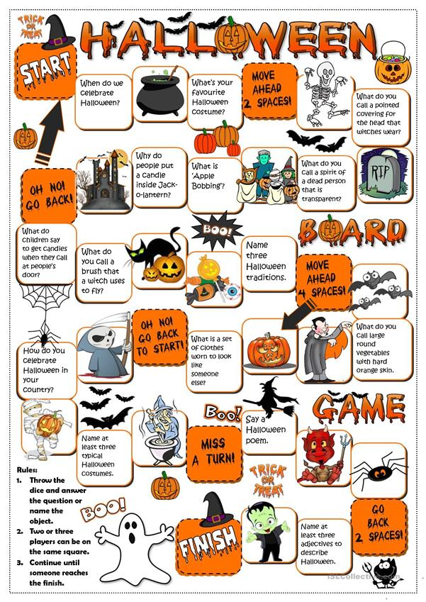 Halloween - board game