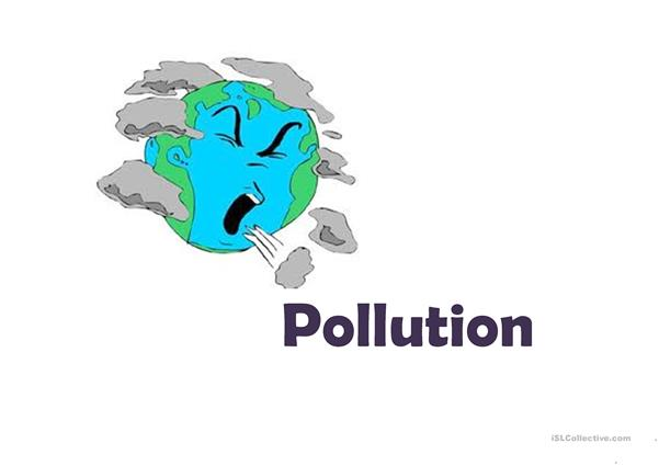 Pollution on Earth