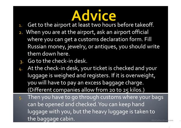 useful tips for the first time air traveller