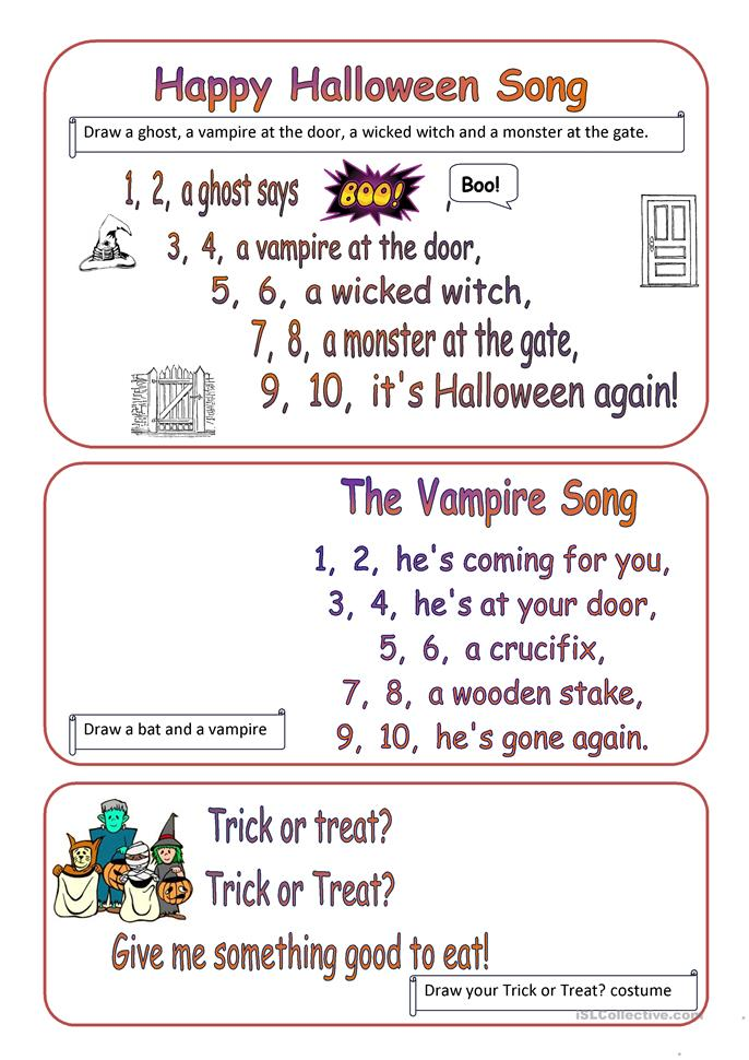 Halloween Coloring Activity Sheets