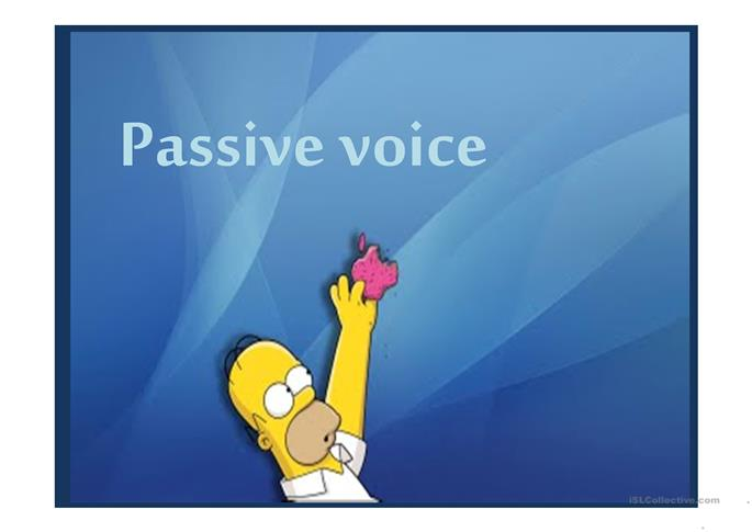 """thesis passive voice Phd thesis/dissertations luttikhuizen criticized """"exaggerated use of the passive voice and latin-based words [that] belongs to the formal style of the 17th century it weakens scientific writing the active voice is much more forceful than the passive for linguistic as well as cultural reasons, scientists who."""