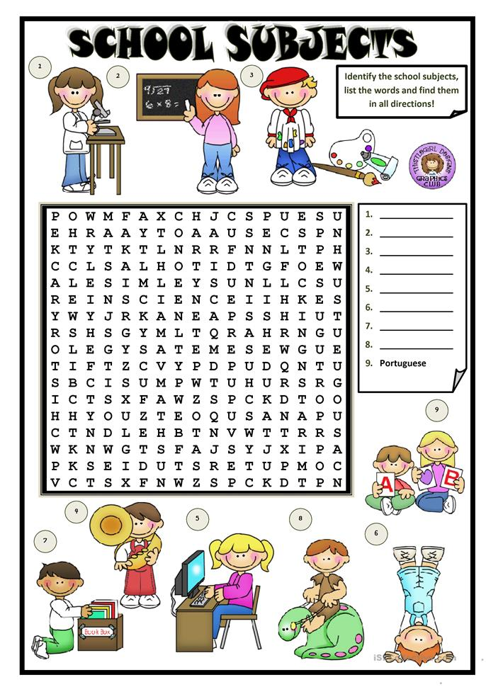 school subjects 3 worksheet free esl printable worksheets made by teachers. Black Bedroom Furniture Sets. Home Design Ideas