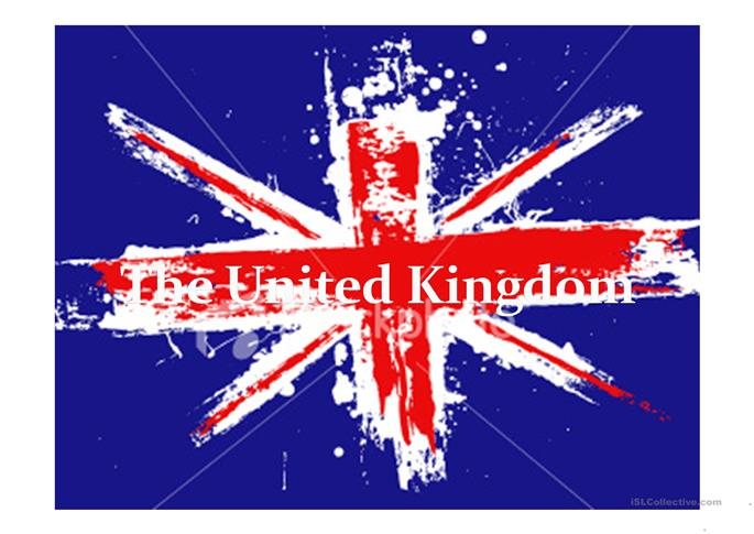The United Kingdom - ESL powerpoints