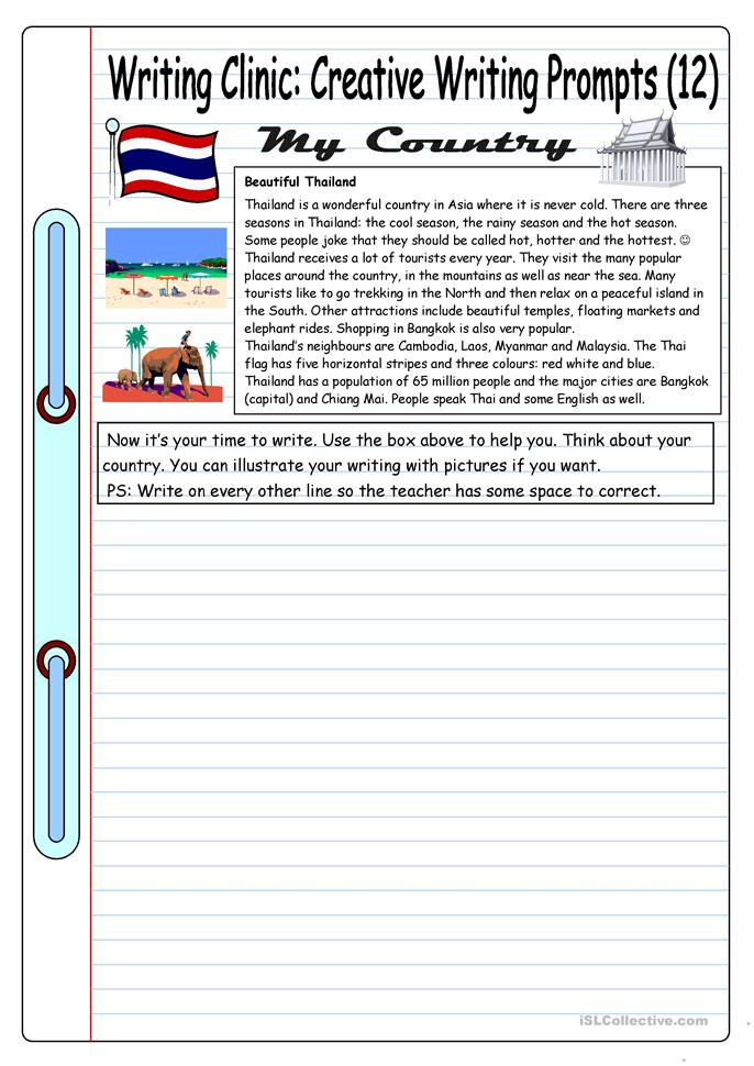 creative writing prompt worksheets Writing prompts worksheets i abcteach provides over 49,000 worksheets page 1.